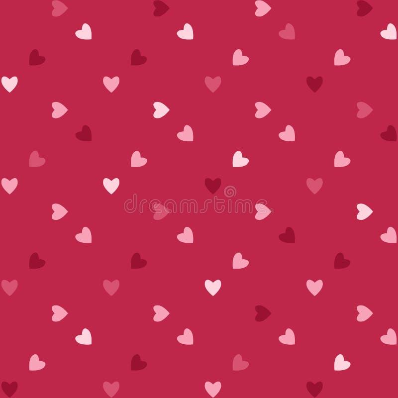 Валентайн сердец иллюстрация штока