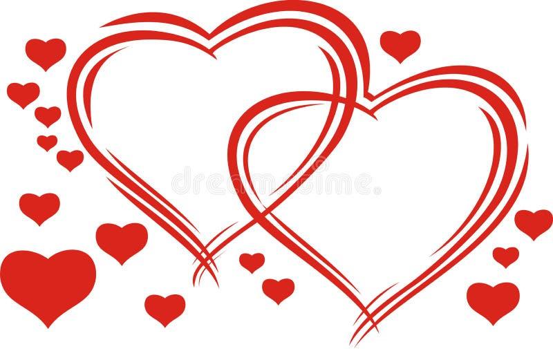 Валентайн сердец s стоковая фотография rf