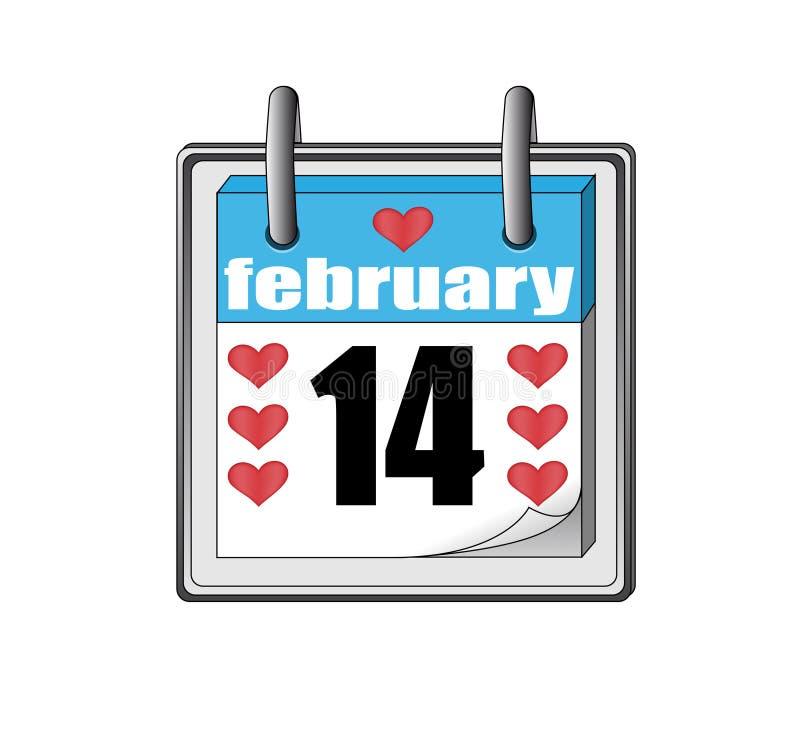 Валентайн st иконы s календарного дня иллюстрация вектора