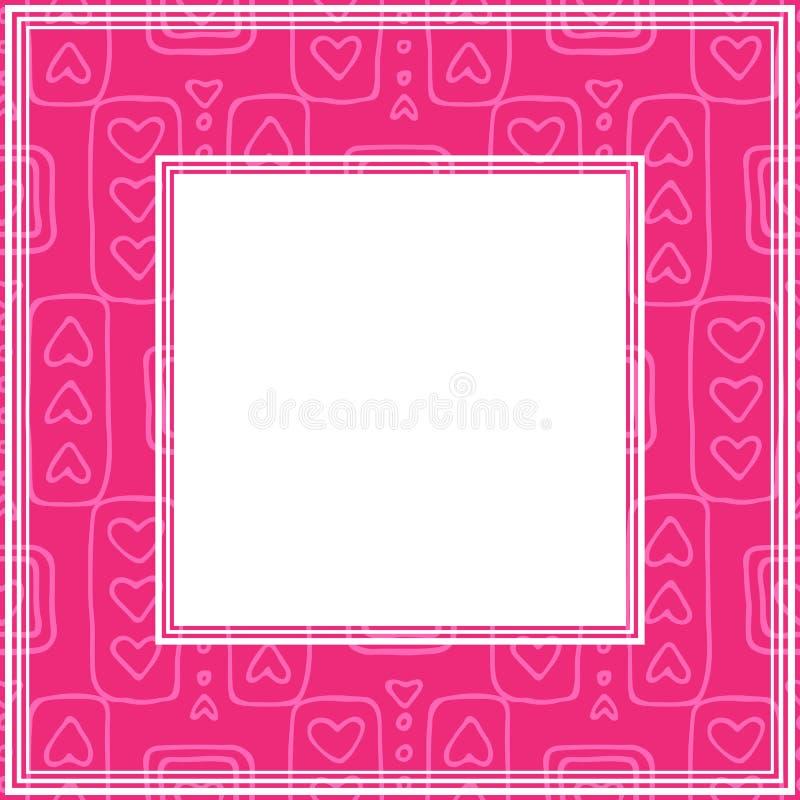 Валентинки border-10 бесплатная иллюстрация