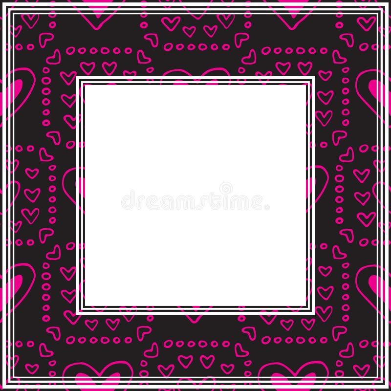 Валентинки border-14 бесплатная иллюстрация