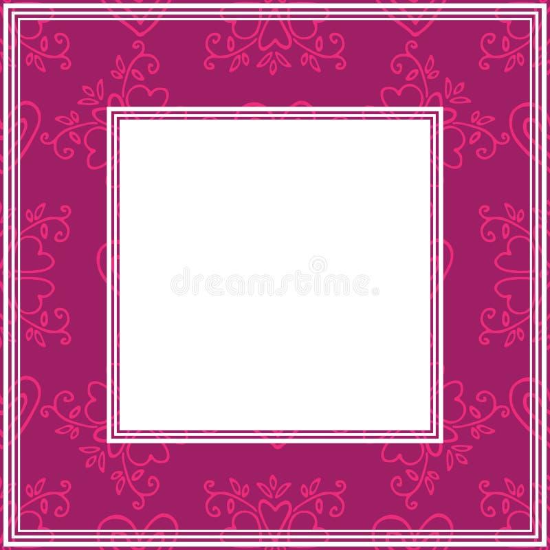 Валентинки border-15 бесплатная иллюстрация