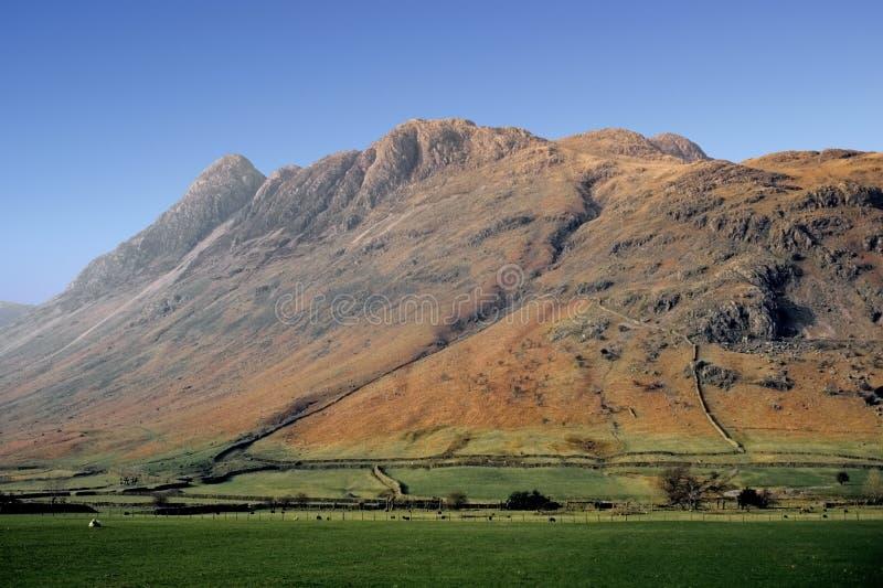 валит горы холмов стоковое изображение rf
