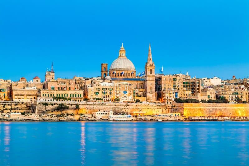 Валлетта, Мальта стоковое фото rf
