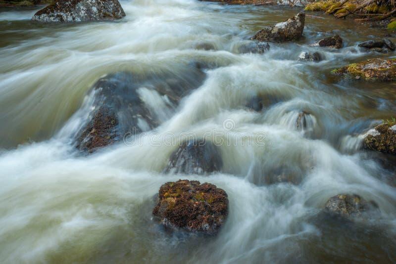 Валуны и вода стоковое фото rf