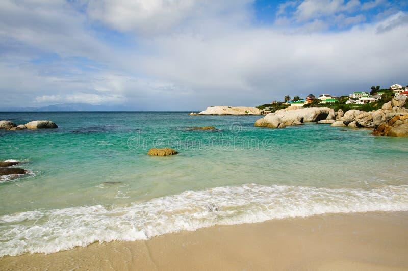 валуны пляжа Африки южные стоковые изображения