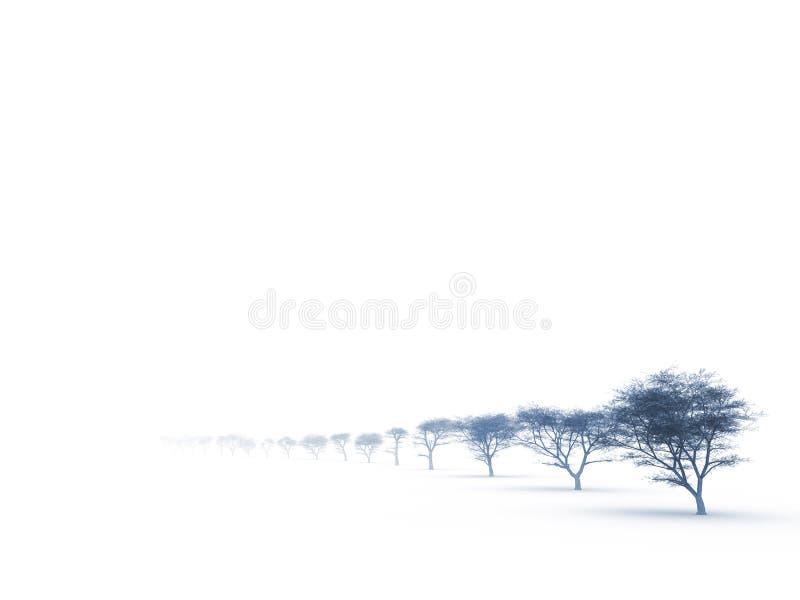 валы помоха туманные стоковые фотографии rf