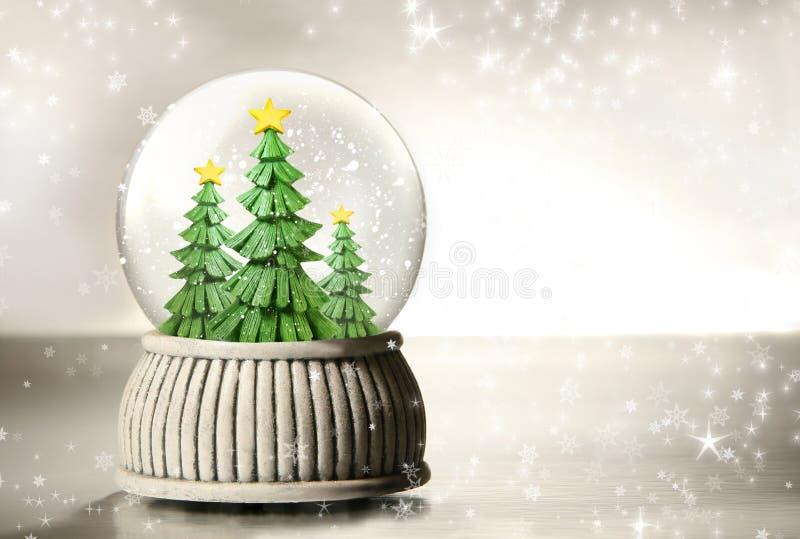 валы снежка глобуса стоковая фотография rf