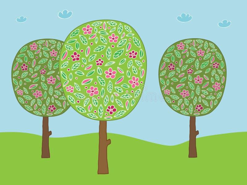 валы цветка бесплатная иллюстрация