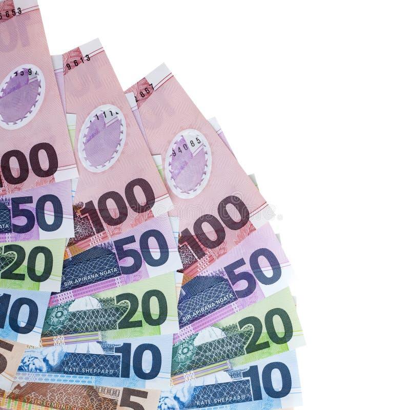 валюта новый белый zealand стоковое фото rf