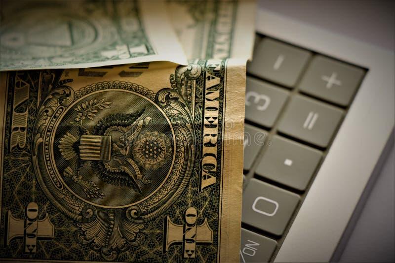 Валюта Соединенных Штатов Америки стоковая фотография