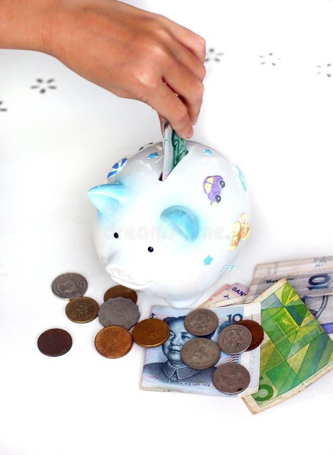 валюта чужая инвестирует старт сбережени Стоковые Фотографии RF