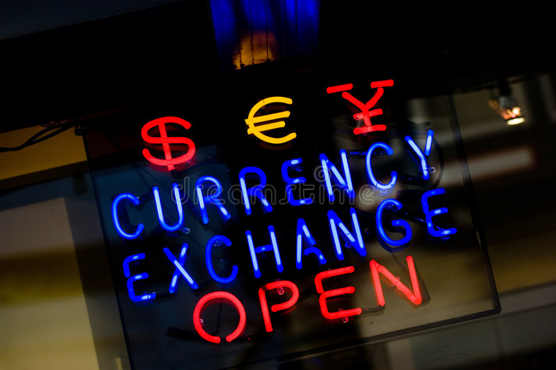 валютная биржа стоковое фото
