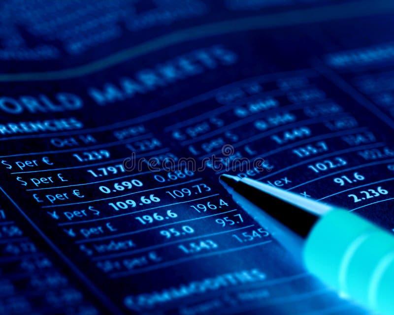 валютные рынки стоковые изображения rf