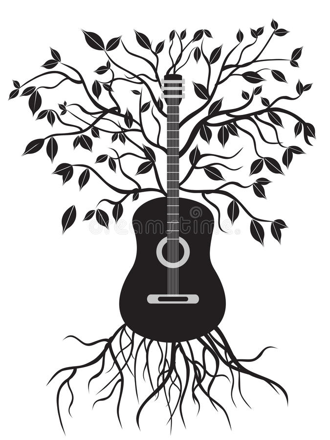 вал гитары бесплатная иллюстрация