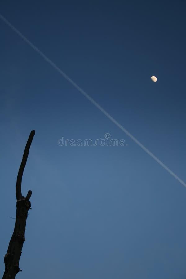 вал луны стоковое фото
