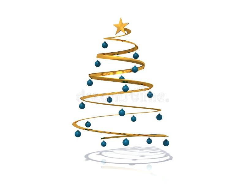 Download вал рождества спиральн иллюстрация штока. иллюстрации насчитывающей сезон - 6862890
