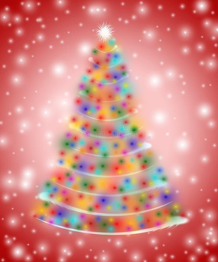 вал светов рождества иллюстрация вектора