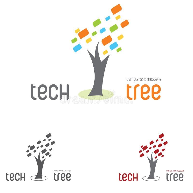 вал техника логоса иллюстрация вектора