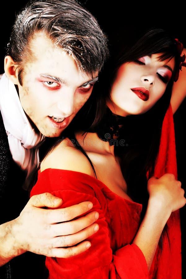 вампиры стоковое изображение