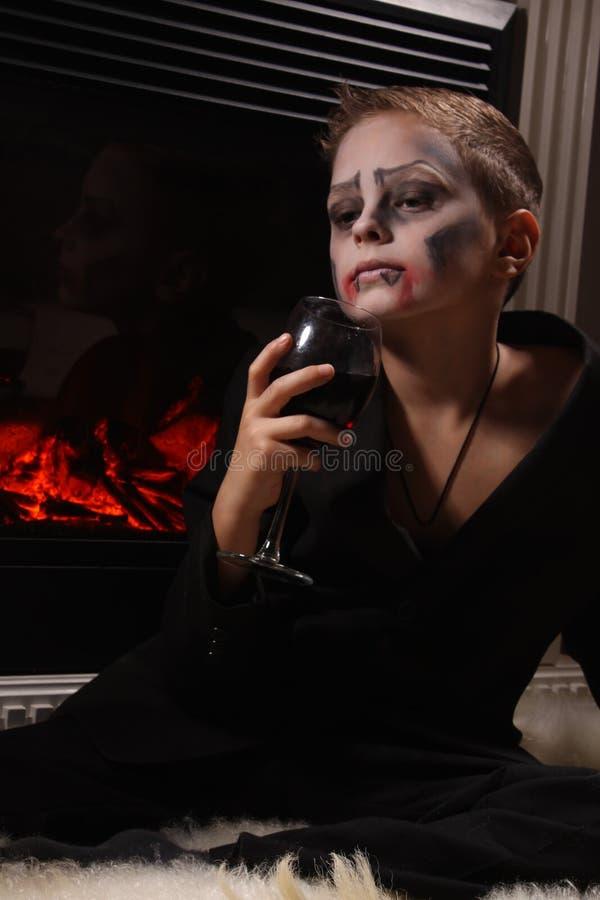 Вампир стоковые изображения rf