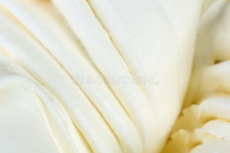 Ванильный sorbet мороженого стоковое изображение