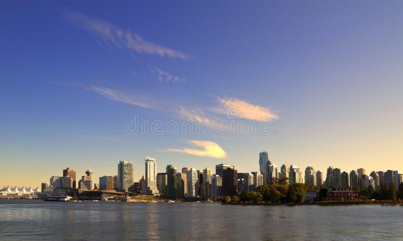 Ванкувер городское стоковая фотография rf