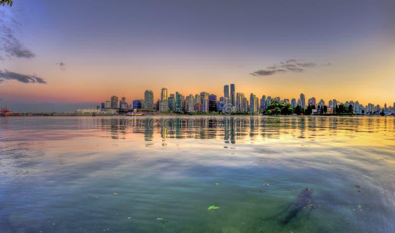Ванкувер, Канада, стоковое изображение