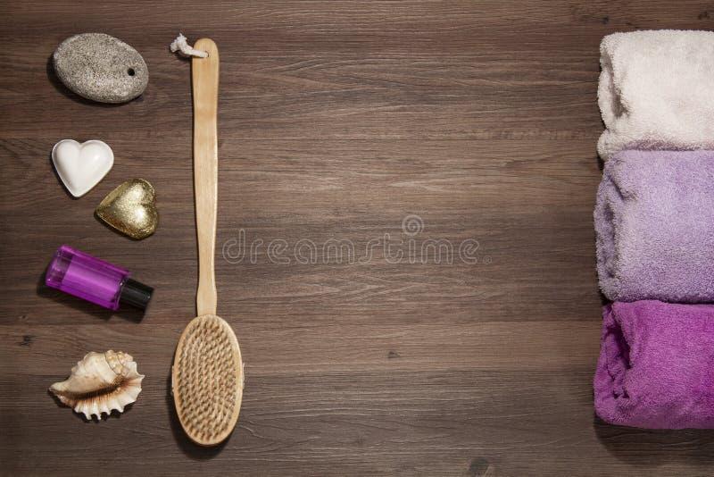 ванная комната вспомогательного оборудования стоковое изображение rf