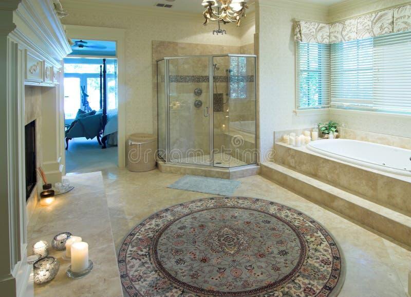 ванная комната роскошная стоковая фотография