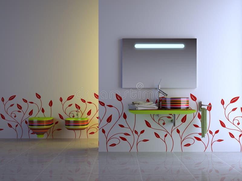 ванная комната славная бесплатная иллюстрация