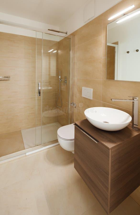 Ванная комната с современной раковиной Роскошные отделки стоковая фотография
