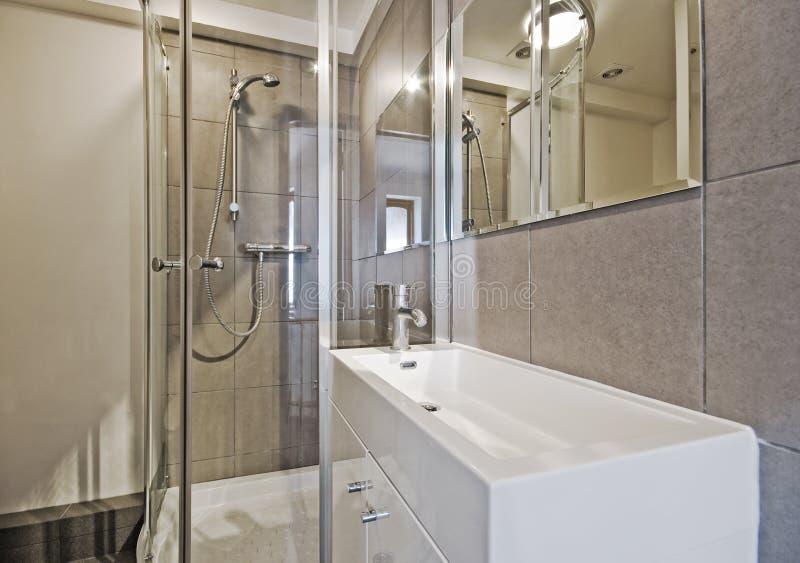 ванная комната уютная стоковое фото