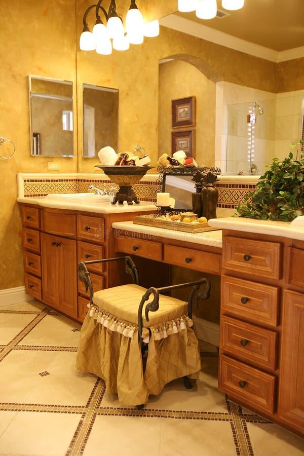 ванная комната шикарная стоковые фотографии rf