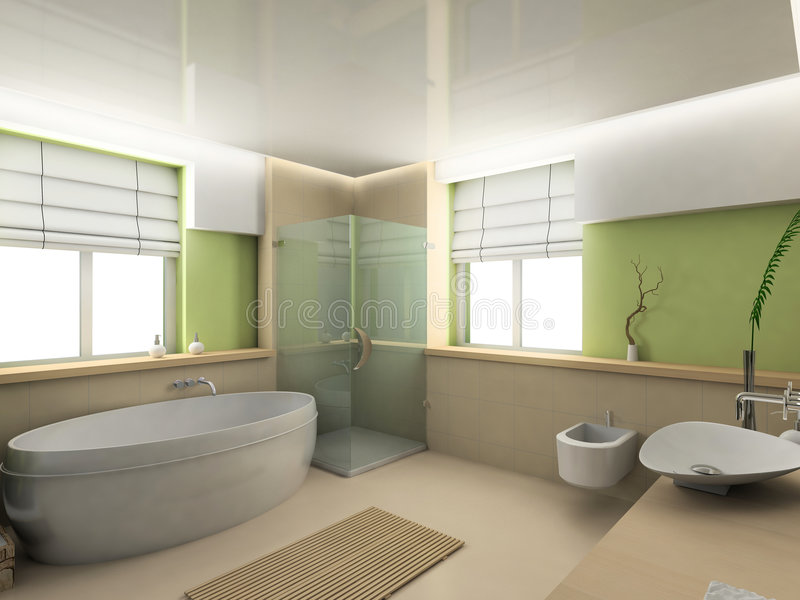 ванная комната иллюстрация вектора
