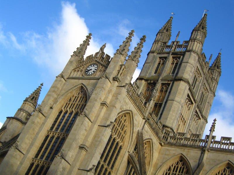 ванна Великобритания аббатства стоковые изображения