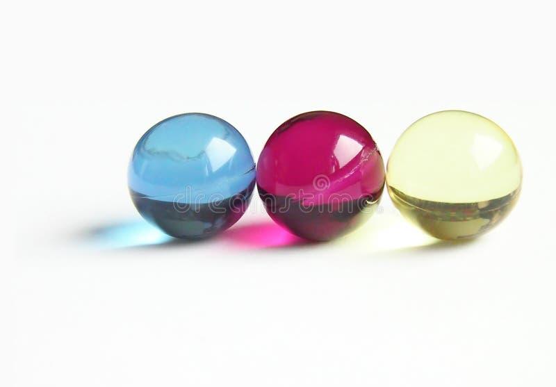 ванна шариков cmy стоковая фотография
