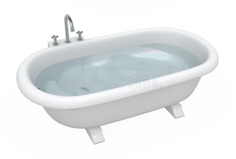 ванна иллюстрация вектора