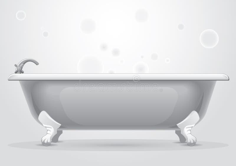 ванна бесплатная иллюстрация