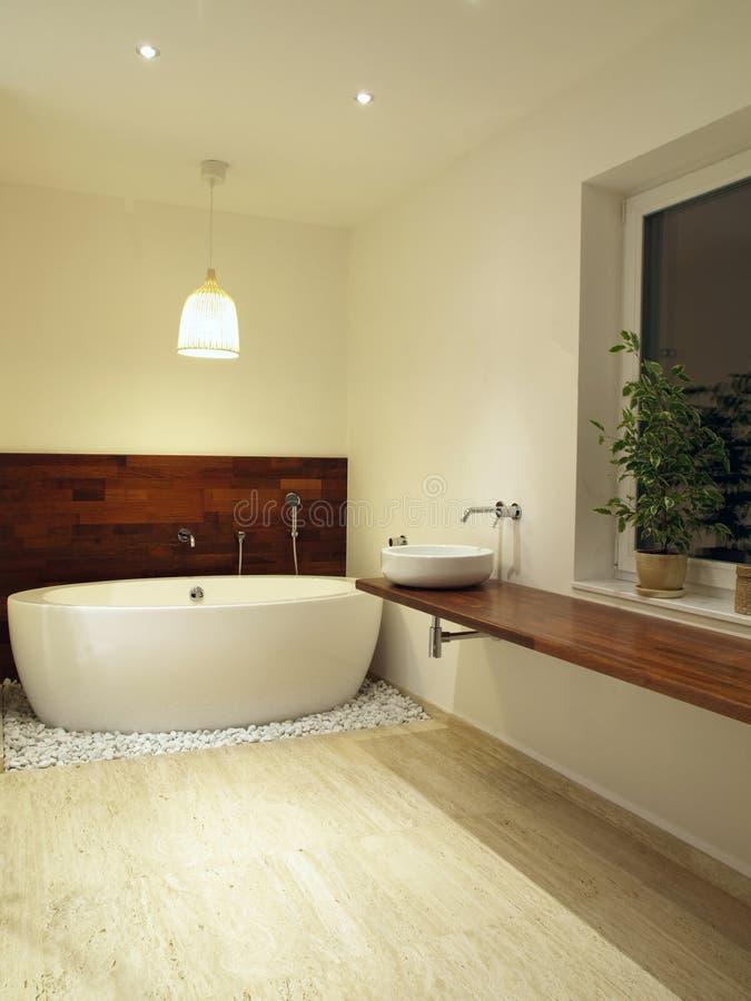 ванна freestanding стоковая фотография rf