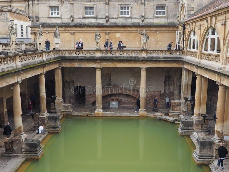 ванны ванны римские стоковое фото rf