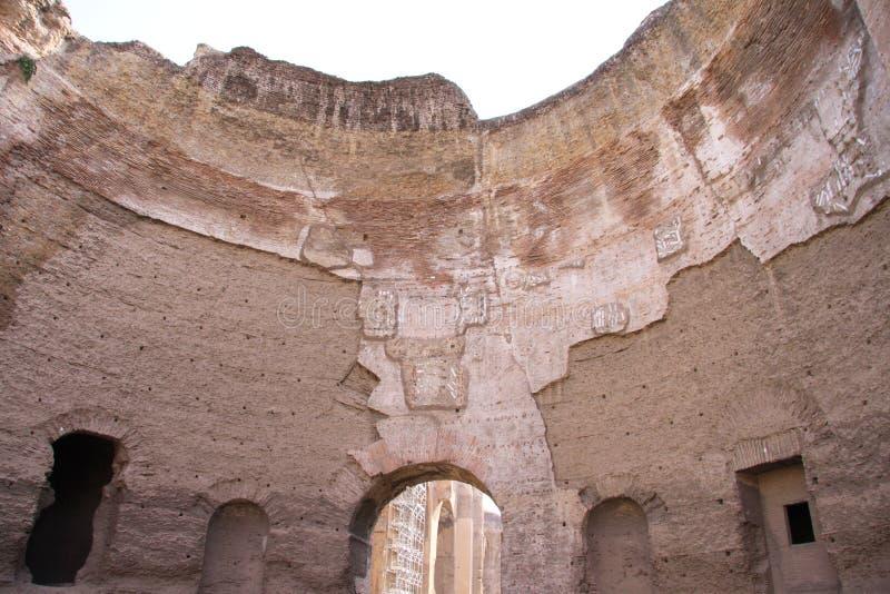 ванны римские стоковые фото