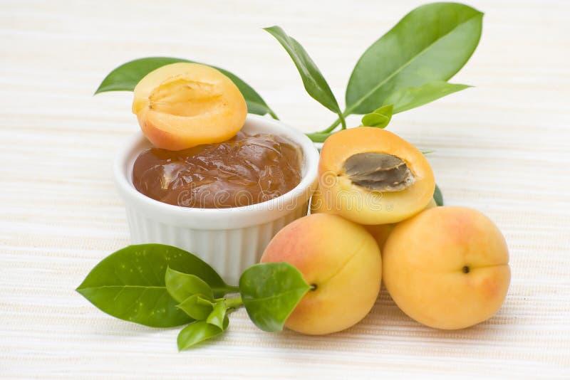варенье абрикоса стоковые фотографии rf