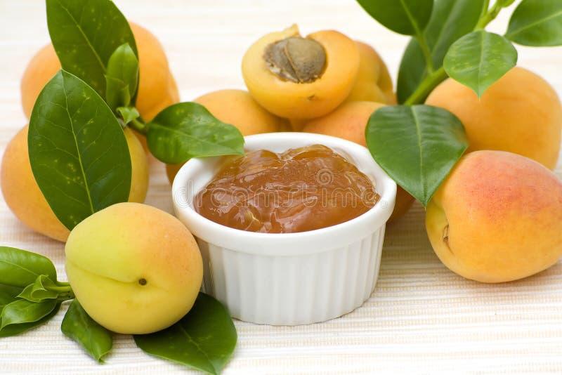 варенье абрикоса стоковые фото