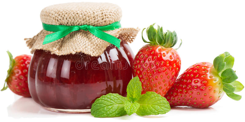Download Варенье клубники стоковое изображение. изображение насчитывающей ягод - 37926161