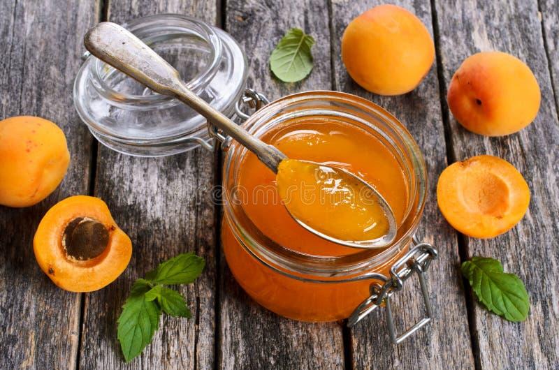 Варенье от абрикосов стоковое фото rf