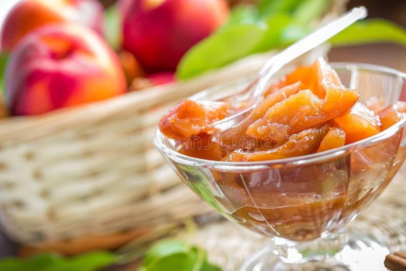 Варенье персика стоковые фото
