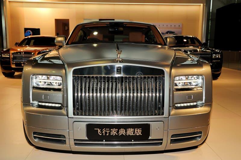 Вариант авиатора Coupe Rolls Royce фантомный стоковое фото rf