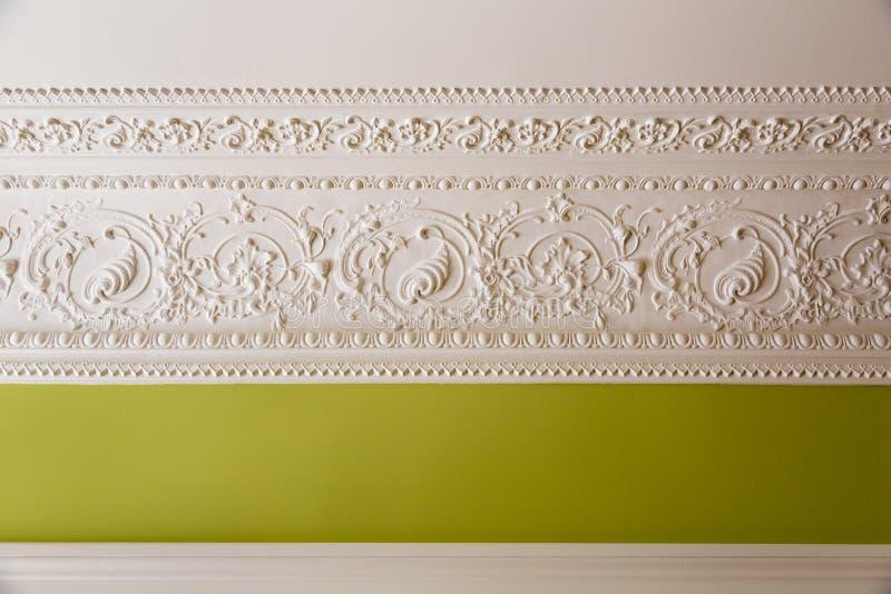 Вариант дизайна стен и потолка стоковое изображение