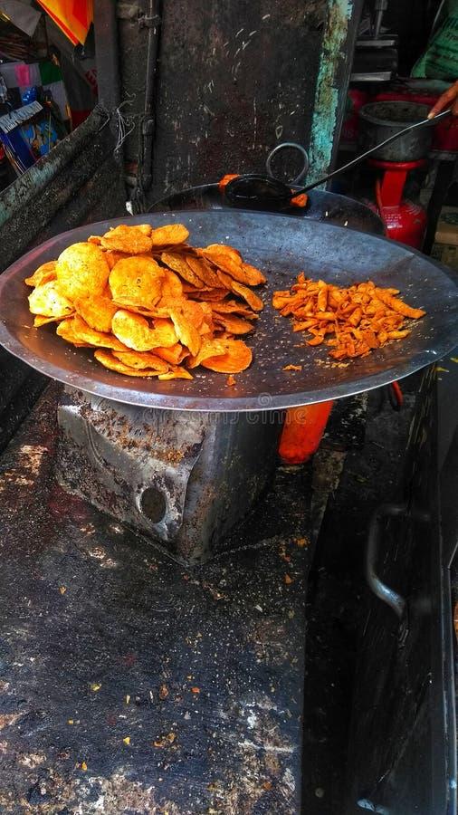 Варить индийские блюда стоковое фото rf